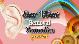 ear wax removal remedies